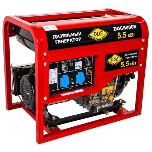 Дизельный генератор DDE eglo 49216