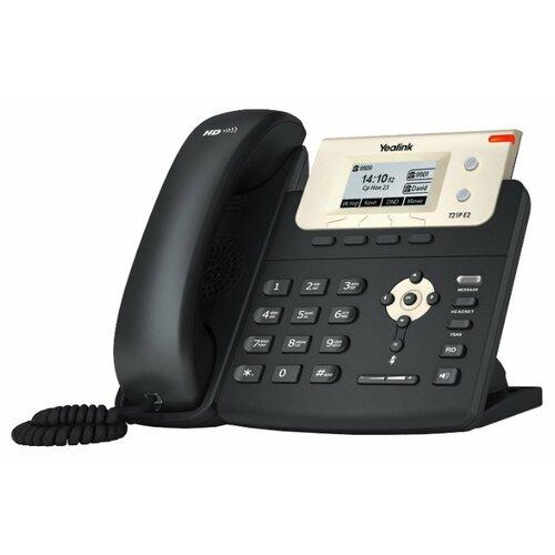 VoIP-телефон Yealink SIP-T21P E2 телефон voip yealink sip t21p e2 sip телефон 2 линии poe
