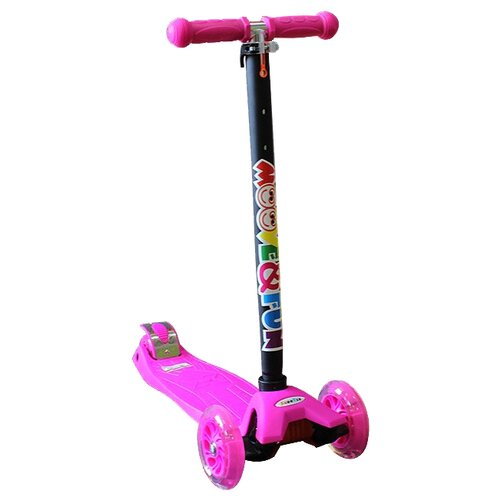 Кикборд Moove&Fun Maxi Led скейт пластиковый moove fun 22х6 1 pp2206 1 green