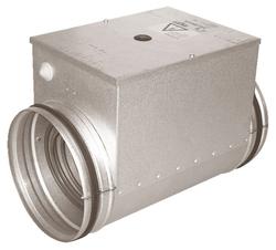 Электрический канальный нагреватель Аэроблок EHC 160-5.0/2