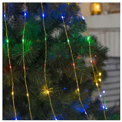 Гирлянда Luazon Конский хвост гирлянда светодиодная luazon конский хвост цвет фиолетовый 225 ламп 8 режимов 12 v 15 нитей длина 1 5 м 1080614