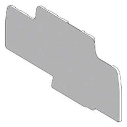 Торцевая и разделительная пластина (изолятор) для клеммного блока Schneider Electric AB1AS6BL