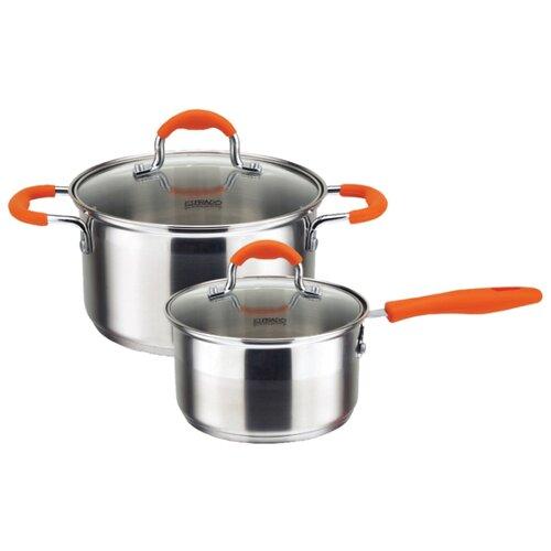 Набор посуды Esprado Tezoro 4 пр. кастрюля esprado tezoro 35 л