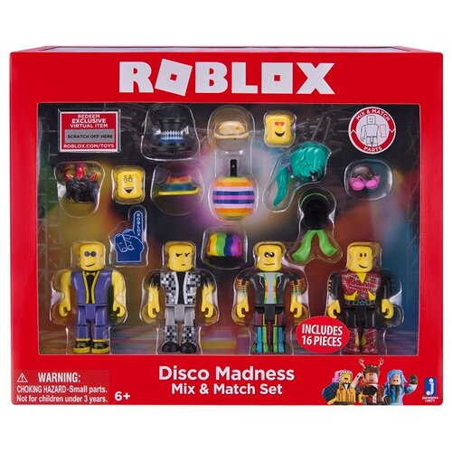 Игровой набор Jazwares Roblox 2018 roblox figure toys 7cm pvc roblox men game figurine roblox game boys characters toys for children gift