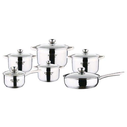 Набор посуды Zeidan Z-51206 12 набор посуды zeidan z 50622