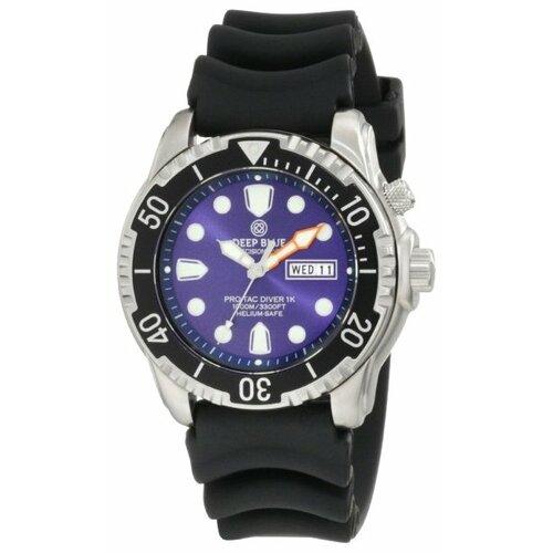 Наручные часы Deep Blue PTD1KBLU stylish plunging neck sleeveless deep blue denim women s dress