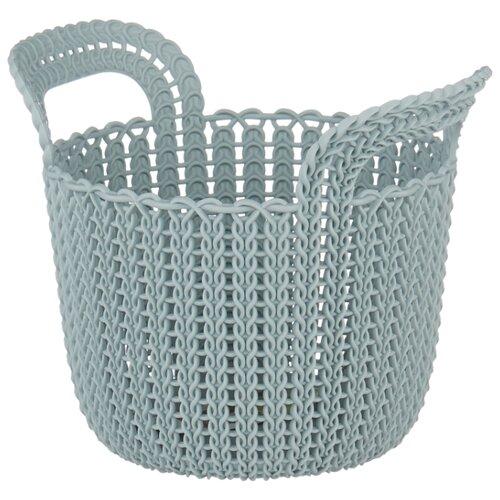 Фото - CURVER Корзина круглая Knit XS корзина для хранения curver knit 3 л прямоугольная голубой
