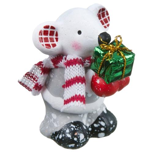 Фигурка SNOWMEN Мышка 7 см Е96646 фигурка snowmen мышка 62 см