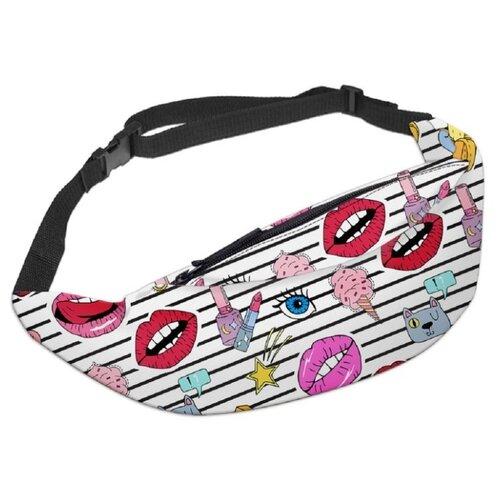 Сумка поясная HOMSU Glamour сумка чехол homsu сумка чехол