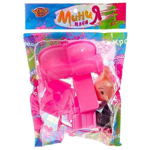 Кукла Yako Мания Мани 8.5 см кукла yako m6579 2