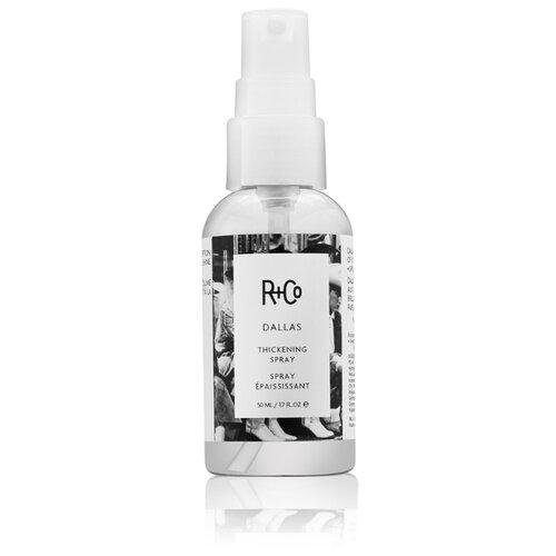 R+Co Спрей для волос Dallas мебель для ванной эстет dallas luxe r 120 напольный два ящика белый