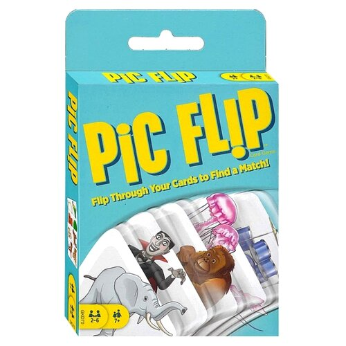 Настольная игра Mattel Pic Flip