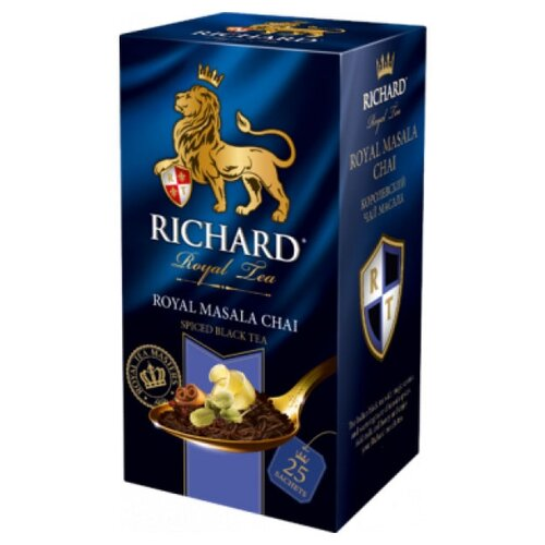 Чай черный Richard Royal masala чай черный richard royal ceylon