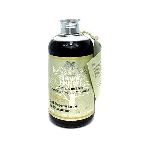 Indian Khadi Масло для волос 18 масло для волос хна розмарин амла indian khadi 200 мл