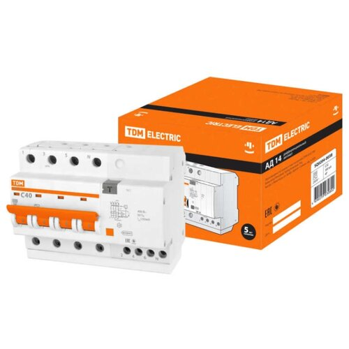 Дифференциальный автомат TDM автомат tdm sq0207 0046