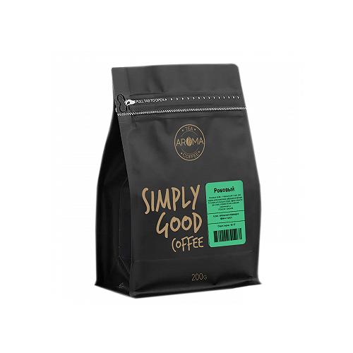 Кофе в зернах Aroma Ромовый