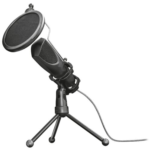 Микрофон Trust GXT 232 Mantis микрофон trust gxt usb