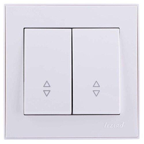 Lezard 703-0202-106 белый розетка lezard 703 0202 124 серия скр проводки рейн защ от детей керамика белый с белой вставкой