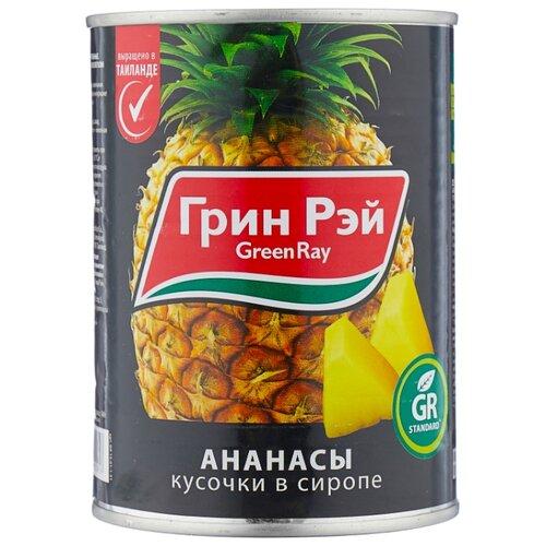 Консервированные ананасы Green