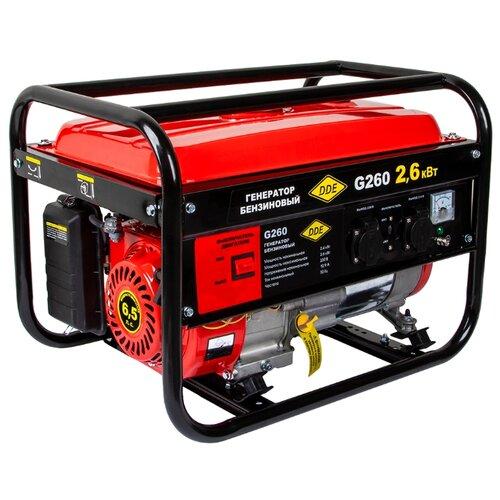 Бензиновый генератор DDE G260