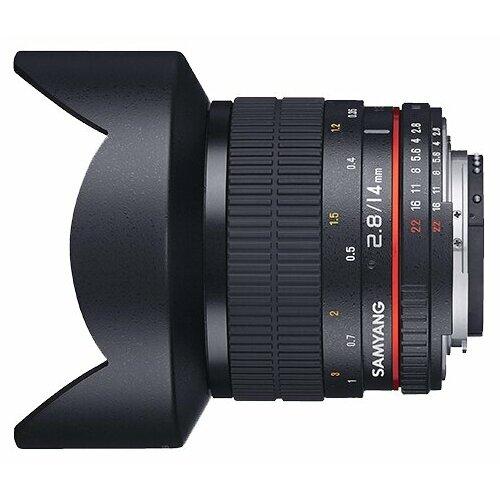 Фото - Объектив Samyang 14mm f 2.8 ED объектив