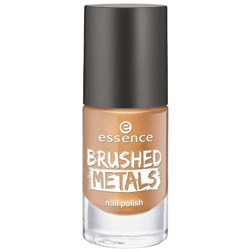 Лак Essence Brushed Metals 8 мл essence brushed metals nail polish лак для ногтей ярко розовый металик тон 04