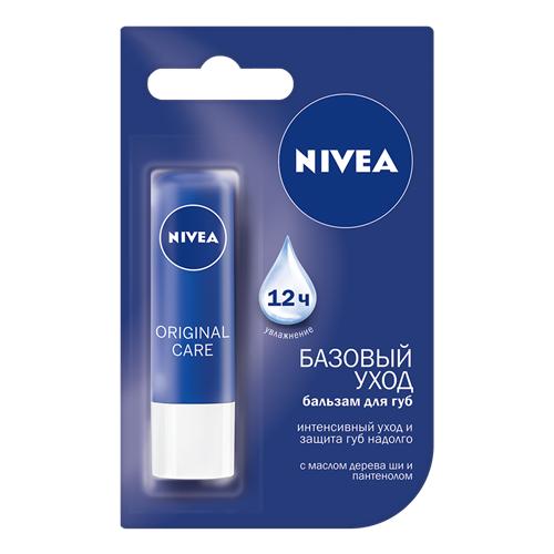 Nivea Бальзам для губ Original бальзам для губ аква забота nivea бальзам для губ аква забота