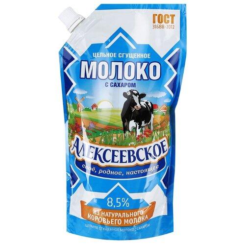 Фото - Сгущенное молоко Алексеевское волоконовское молоко цельное сгущенное с сахаром премиум 380 г
