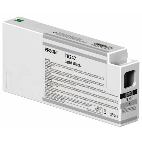 Картридж Epson C13T824700 t8247 light black 350 мл c13t824700