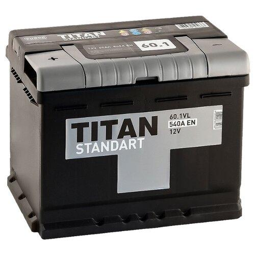 Автомобильный аккумулятор TITAN аккумулятор