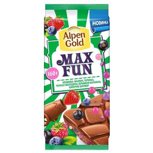 Шоколад Alpen Gold молочный Max