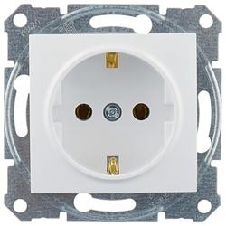 Розетка Schneider Electric SEDNA SDN3000521,16А, с заземлением, белый