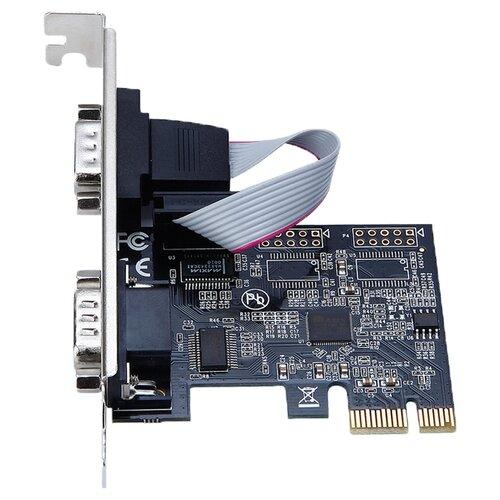 COM контроллер ORIENT XWT-PE2SV1 контроллер pci e orient xwt pe1s1pv2 com lpt oem