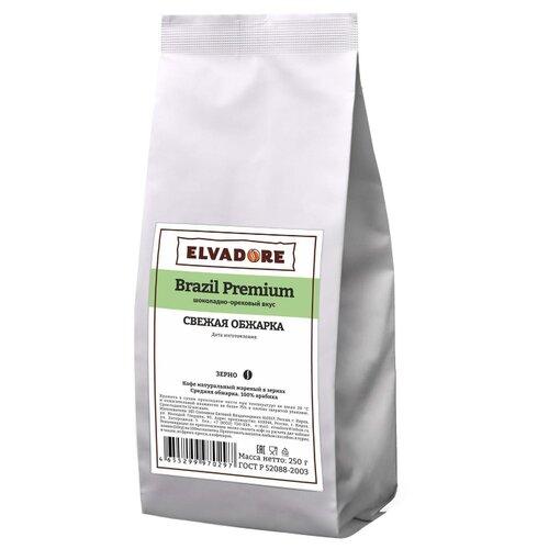 Кофе в зернах Elvadore Brazil