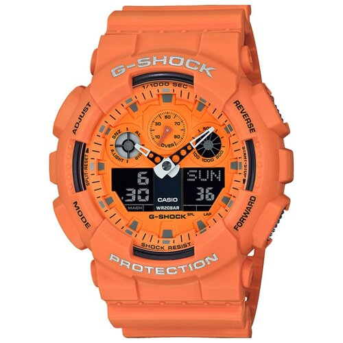 Наручные часы CASIO GA-100RS-4A casio ga 110rd 4a
