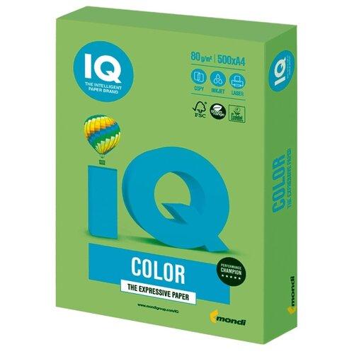 Фото - Бумага A4 500 шт. IQ color LG46 кубики айрис пресс iq веселые динозаврики 978 5 8112 6898 6 9 шт