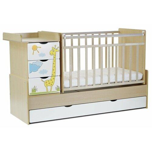 Кроватка СКВ-Компани 52003х кроватка скв митенька 160115 береза