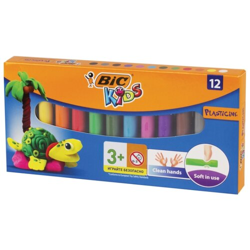 Пластилин BIC Kids 12 цветов