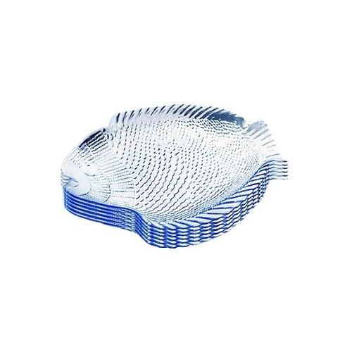 Pasabahce Набор тарелок Marine набор тарелок pasabahce sultana 23 х 18 см 2 шт