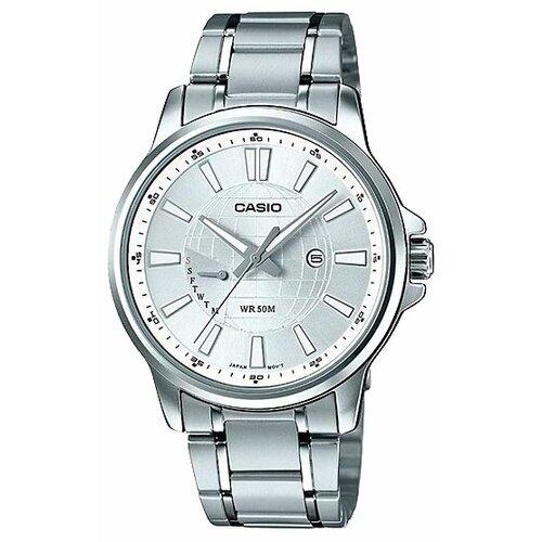 Наручные часы CASIO MTP-E137D-7A casio часы casio mtp 1335d 7a коллекция analog
