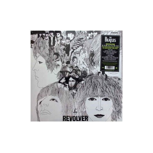 The Beatles. Revolver. Original жакет emi emi mp002xw1h8tc