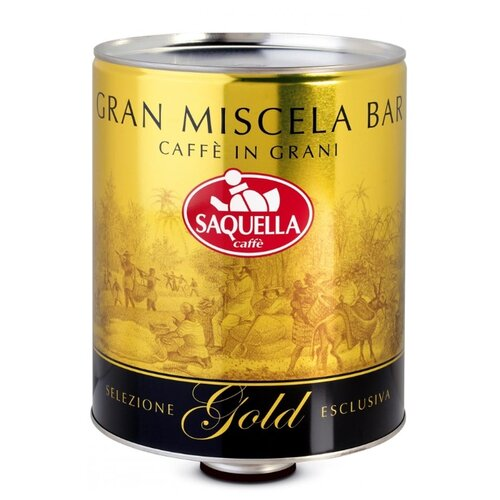 Кофе в зернах Saquella