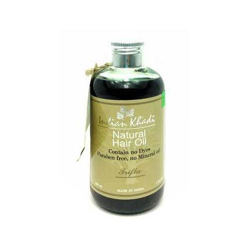Indian Khadi Масло для волос с масло для волос хна розмарин амла indian khadi 200 мл