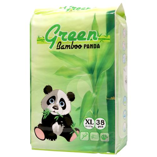 Green Bamboo Panda трусики XL