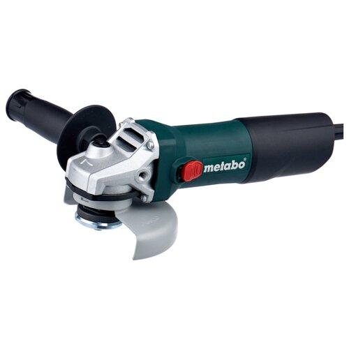 Фото - УШМ Metabo W 850-125 603608010 набор metabo ушм болгарка w 9 125 600376010 лента ремонтная 240 001