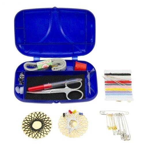 Prym Набор для шитья дорожный в клик бокс prym для хранения принадлежностей для шитья рукоделия и хобби