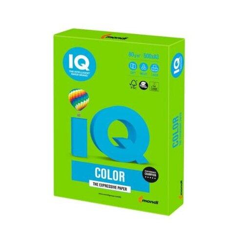 Фото - Цветная бумага IQ color A3 500 айзенк ганс юрген эванс даррин тесты iq для юных гениев