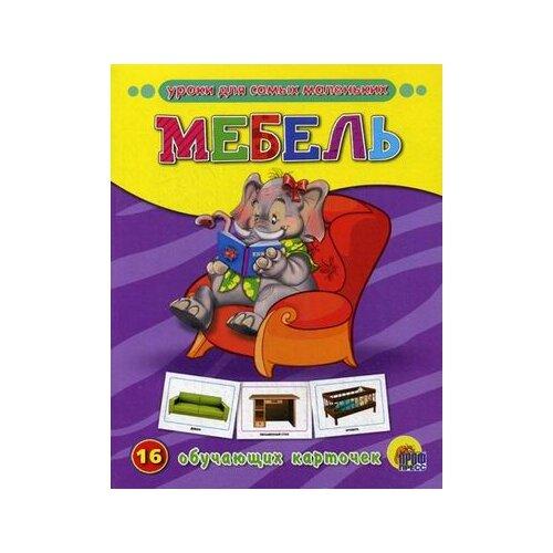Мебель. 16 обучающих карточек животный мир на английском 16 обучающих карточек