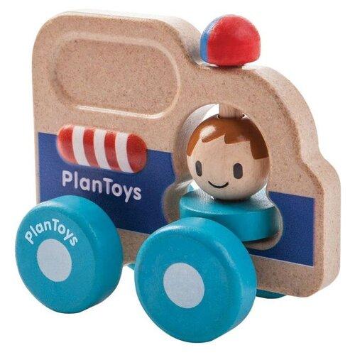 Машинка Plan Toys Спасательная машинка plantoys курочка 5679