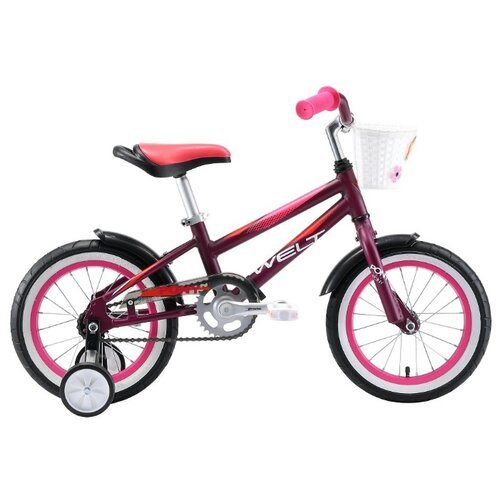 Детский велосипед Welt Pony 14 велосипед welt peak 24 disc 2019
